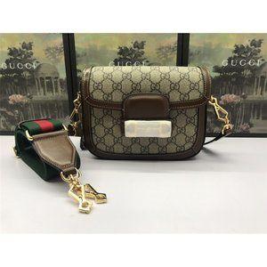 miata Gucci Horsebit 1955 Beige and ebony GG Supr